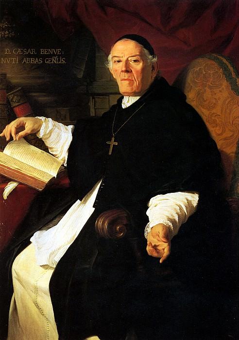 СУБЛЕЙРА ПЬЕР - Его преосвященство Чезаре Бенбенути, настоятель конгрегации каноников Аатерана, 1742.. Лувр (Париж)