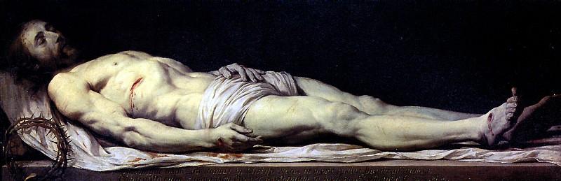 ШАМПЕНЬ ФИЛИПП ДЕ - Мертвый Христос.. Louvre (Paris)