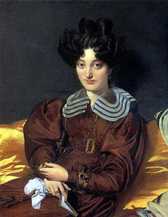 ЭНГР ЖАН ОГЮСТ ДОМИНИК - Мадам Маркотт де Сент-Мари, 1826.. Лувр (Париж)