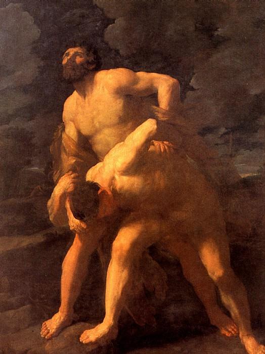 РЕНИ ГВИДО - Геракл, борющийся с Ахелоем, 1620-1621.. Louvre (Paris)