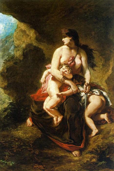 delacroix20. Ferdinand Victor Eugène Delacroix