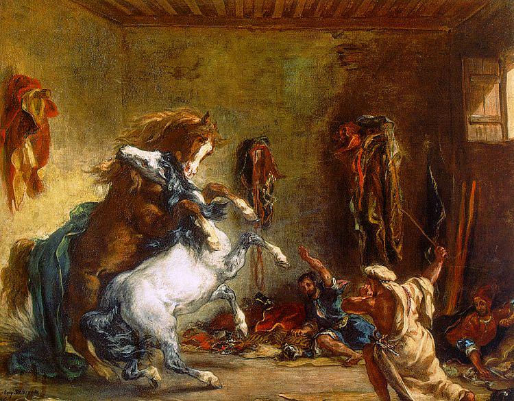 delacroix17. Ferdinand Victor Eugène Delacroix