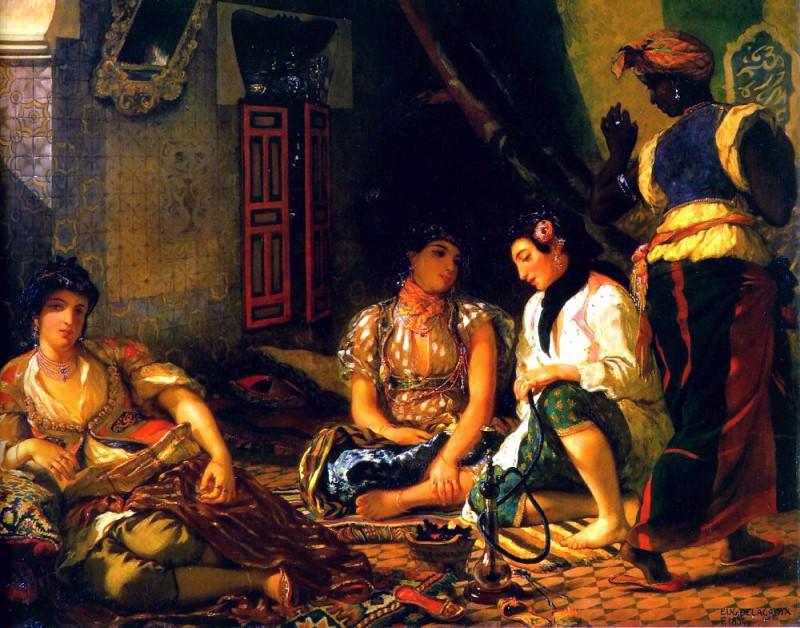 algiers. Ferdinand Victor Eugène Delacroix