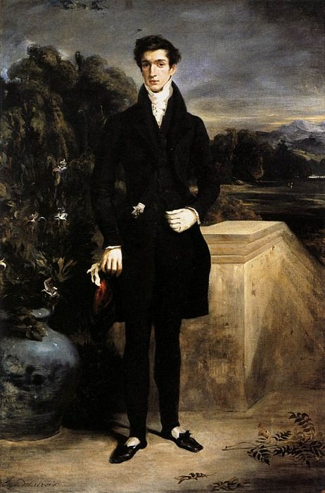 Louis Auguste Schwiter. Ferdinand Victor Eugène Delacroix