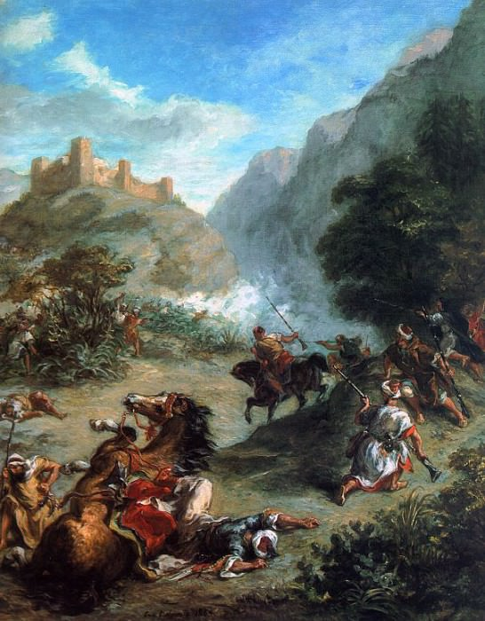delacroix23. Ferdinand Victor Eugène Delacroix