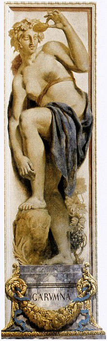 DELACROIX Eugene The Garonne. Ferdinand Victor Eugène Delacroix