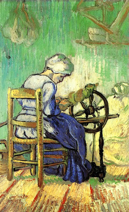 The Spinner. Vincent van Gogh