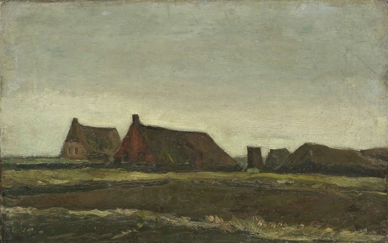 Cottages. Vincent van Gogh