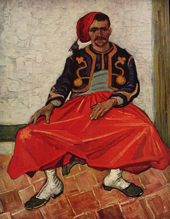 The Seated Zouave. Vincent van Gogh