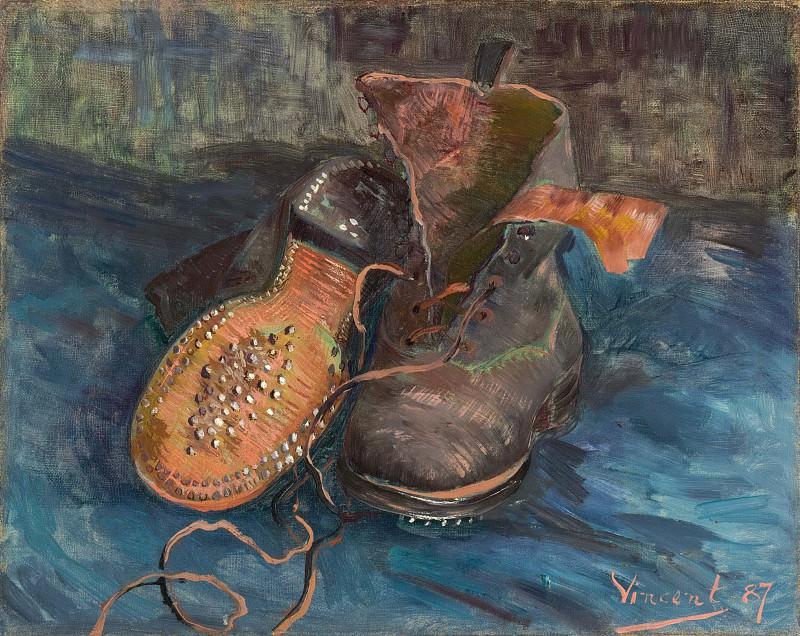A Pair of Shoes. Vincent van Gogh
