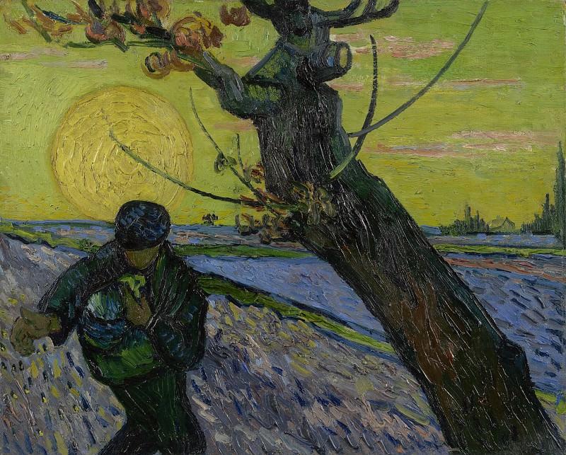 Sower. Vincent van Gogh
