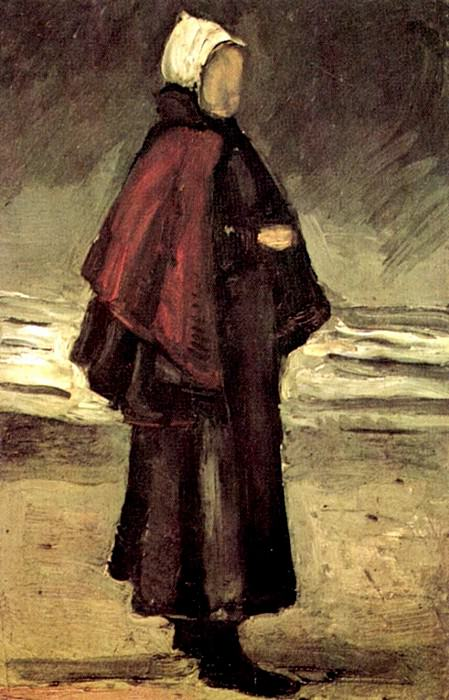 Fisherman s Wife on the Beach. Vincent van Gogh