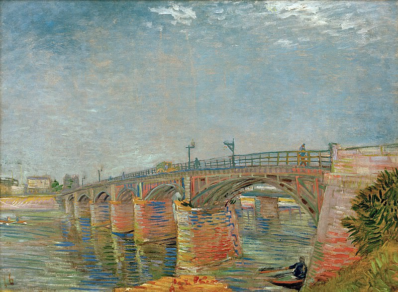 The Seine Bridge at Asnieres. Vincent van Gogh