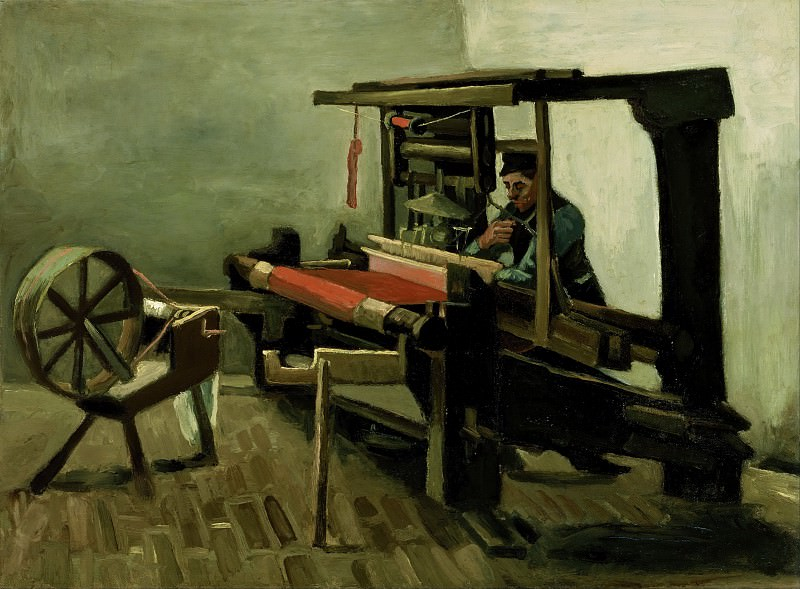 Weaver. Vincent van Gogh