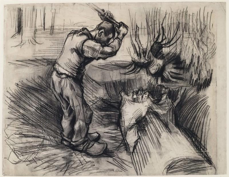 Woodcutter. Vincent van Gogh