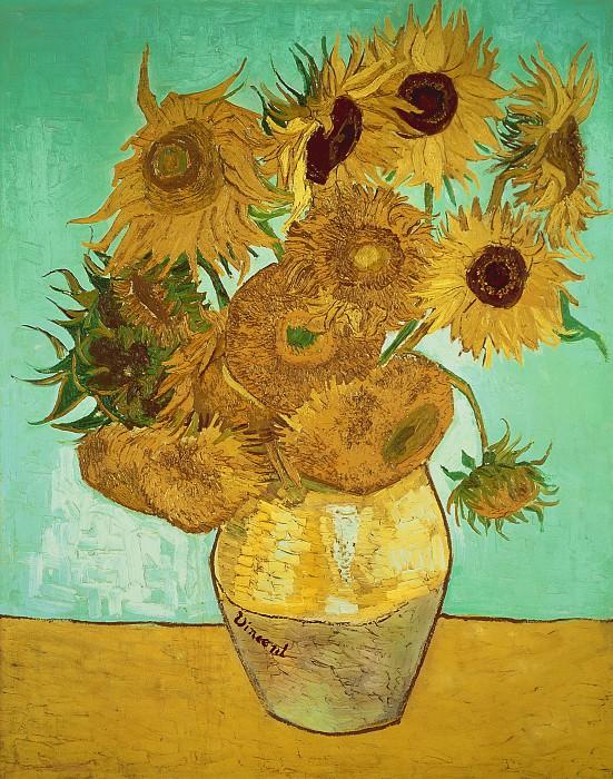 Sunflowers. Vincent van Gogh