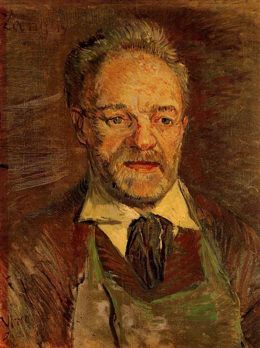 Portrait of Pere Tanguy. Vincent van Gogh