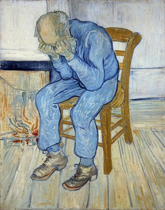 Old Man in Sorrow. Vincent van Gogh