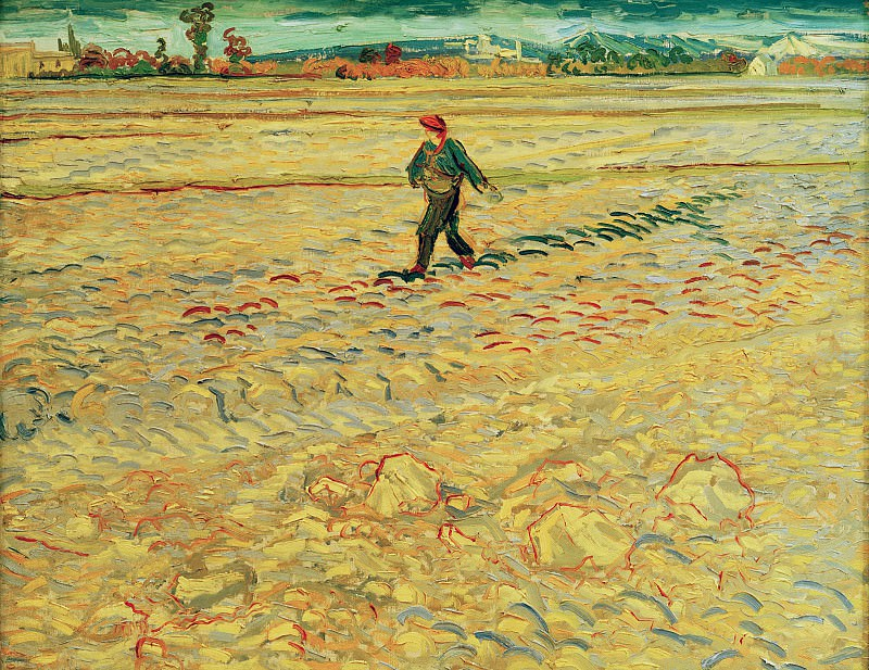 The Sower. Vincent van Gogh