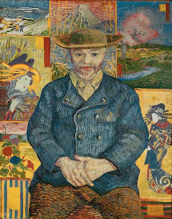 Portrait of Pere Tanguy. Vincent van Gogh