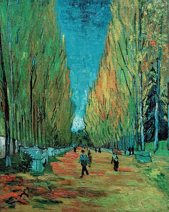 Les Alychamps. Vincent van Gogh