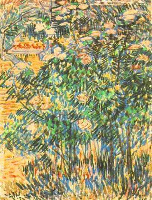 Flowering Shrubs 2. Vincent van Gogh