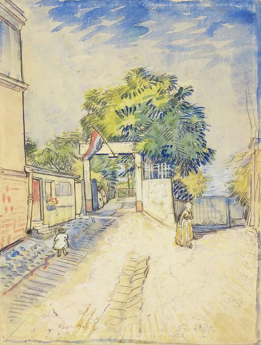 Entrance to the Moulin de la Galette. Vincent van Gogh