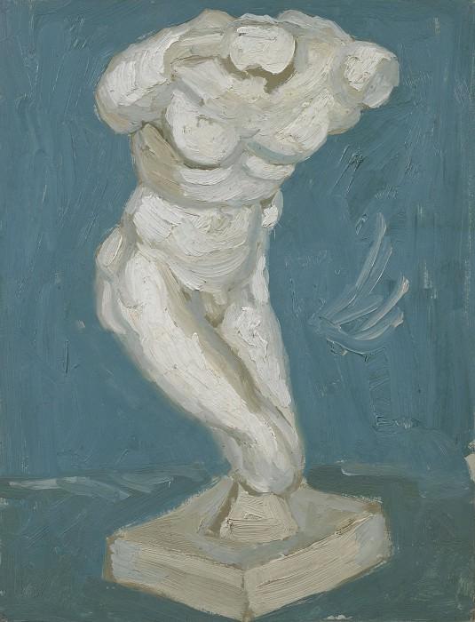 Гипсовая статуэтка мужского торса. Винсент Ван Гог
