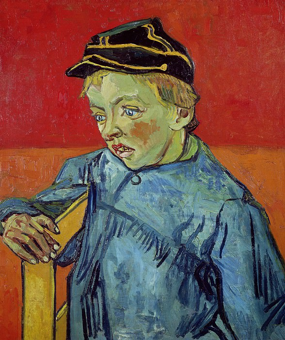 The Schoolboy Camille Roulin. Vincent van Gogh