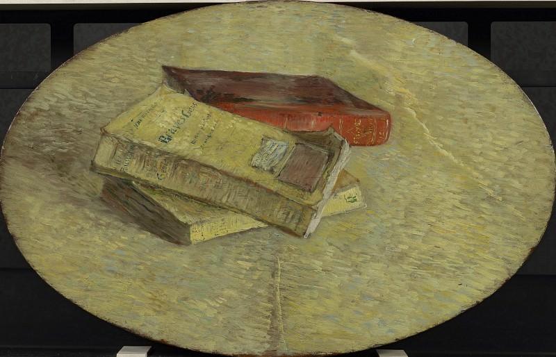 Still Life with Three Books. Vincent van Gogh