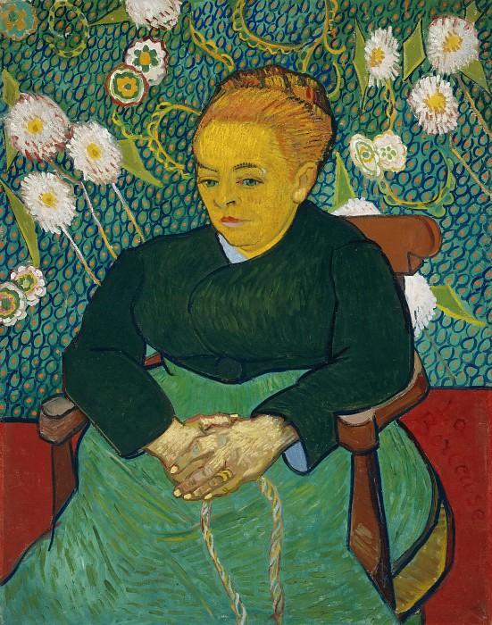 Lullaby - Augustine Roulin. Vincent van Gogh