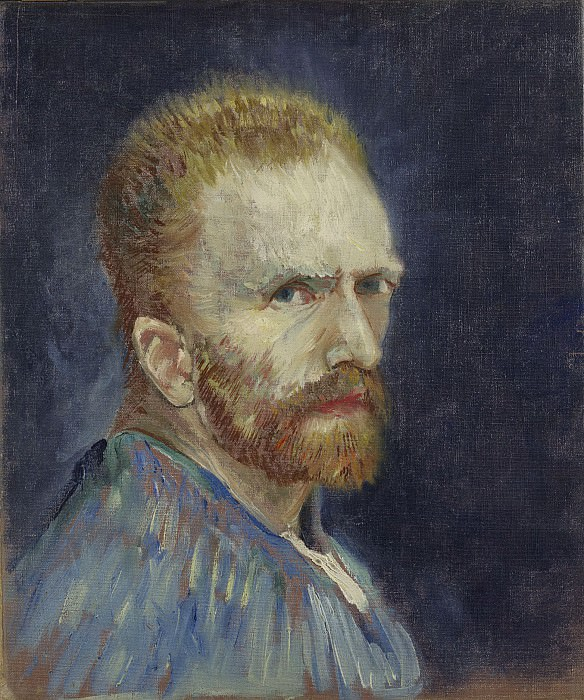 Self-Portrait. Vincent van Gogh