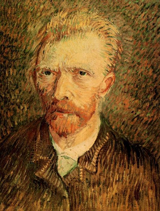 Self-Portrait. Vincent van Gogh