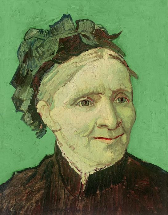 Портрет матери художника (Анна Корнелия ван Гог). Винсент Ван Гог
