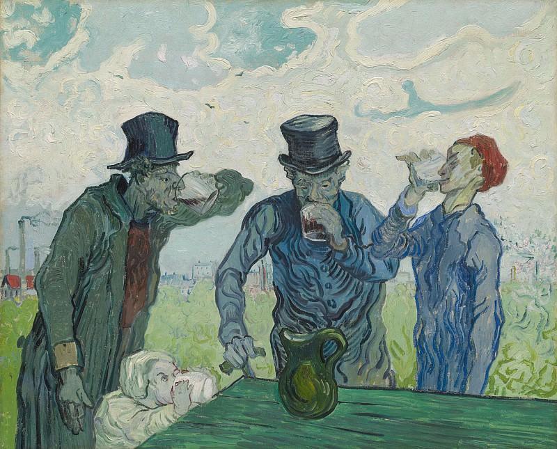 The Drinkers. Vincent van Gogh