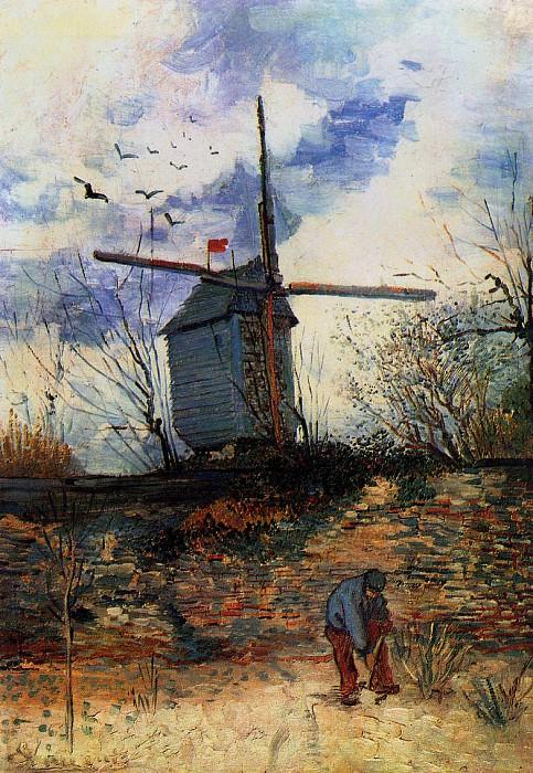 Le Moulin de la Galette. Vincent van Gogh
