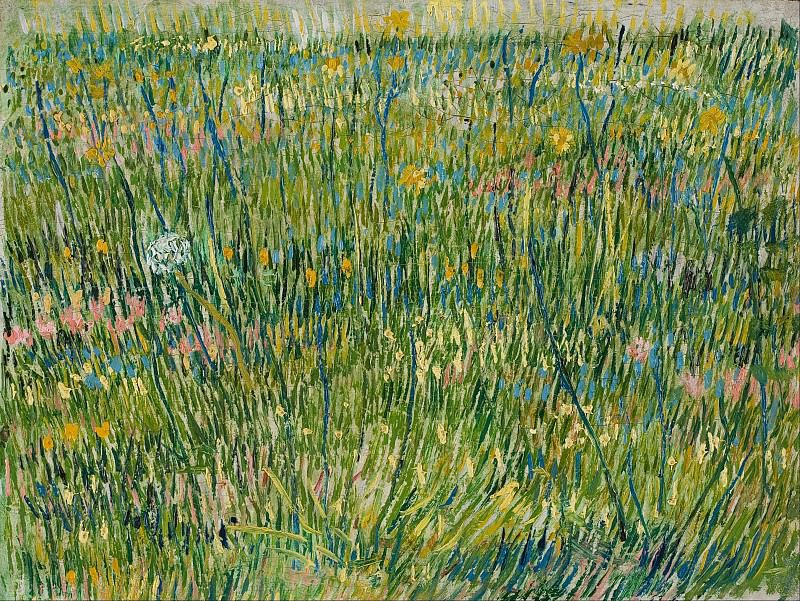 Pasture in Bloom. Vincent van Gogh