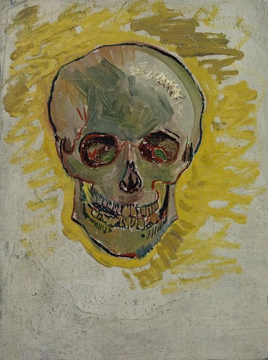 Skull. Vincent van Gogh