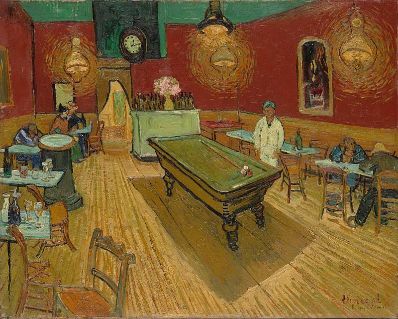 NIght Cafe. Vincent van Gogh