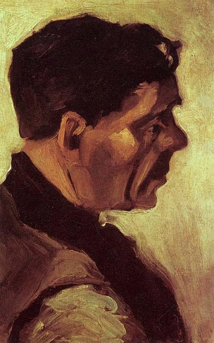 Head of a Peasant. Vincent van Gogh