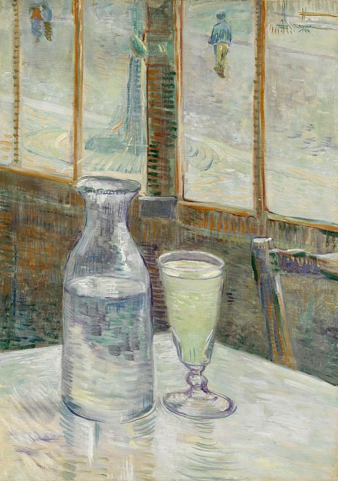 Cafe Table with Absent. Vincent van Gogh