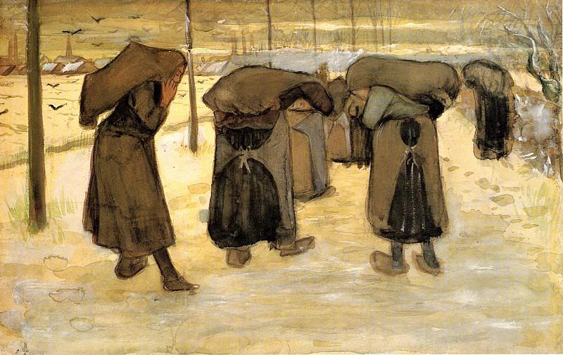 Women Miners. Vincent van Gogh