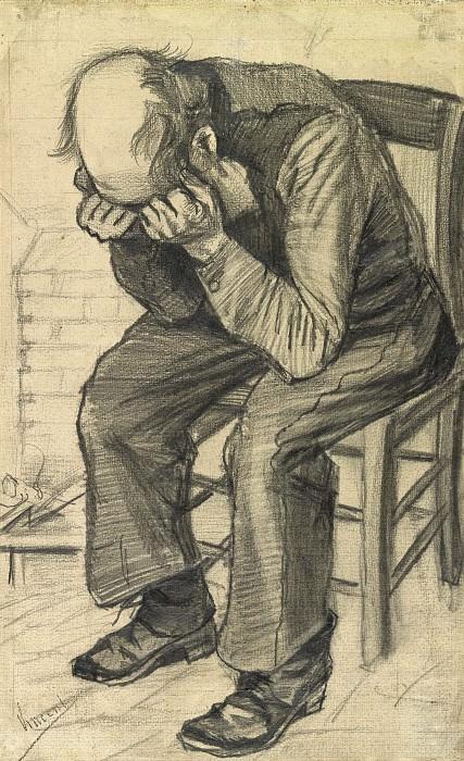 Orphan Man. Vincent van Gogh