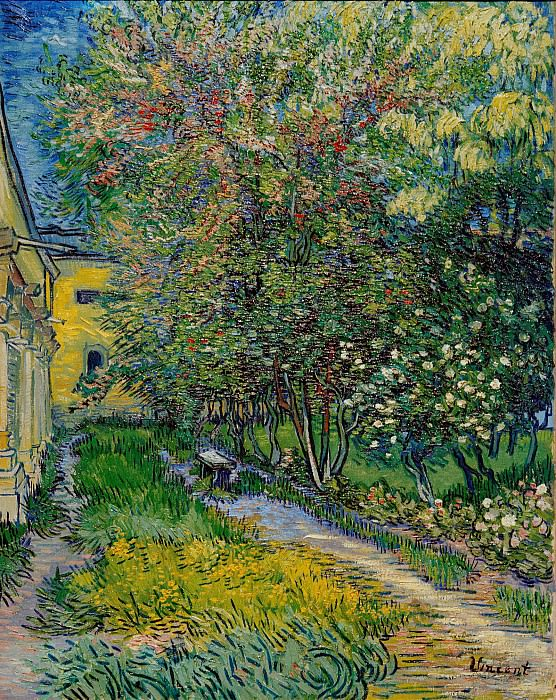 The Garden of Saint-Paul Hospital. Vincent van Gogh