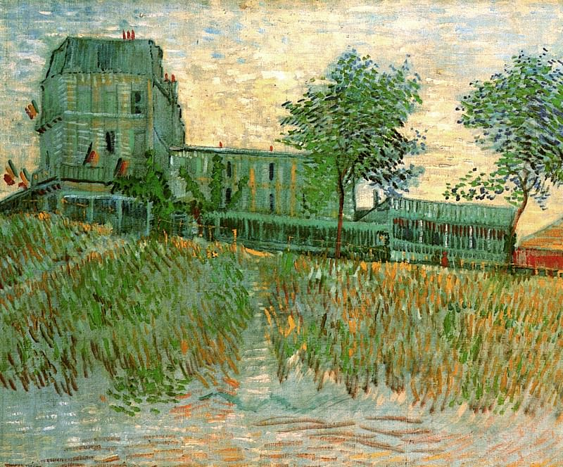 The Restaurant de la Sirene at Asnieres. Vincent van Gogh