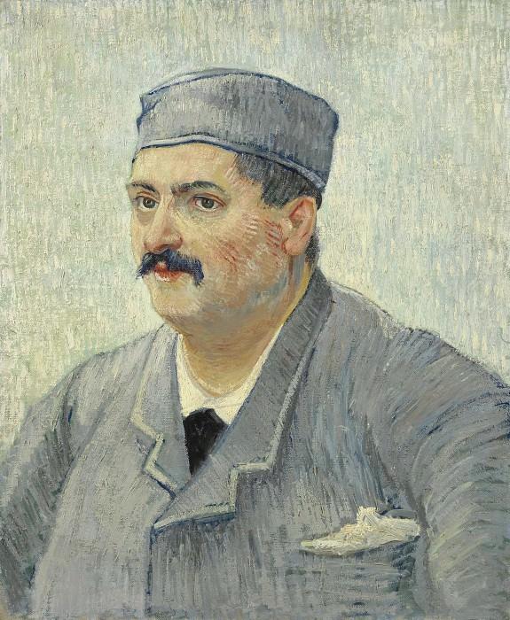 Portrait of Etienne-Lucien Martin. Vincent van Gogh