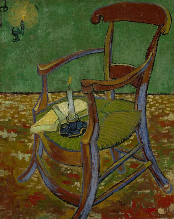 Gauguins Chair. Vincent van Gogh