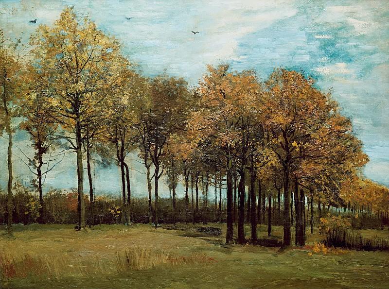 Осенний пейзаж. Винсент Ван Гог