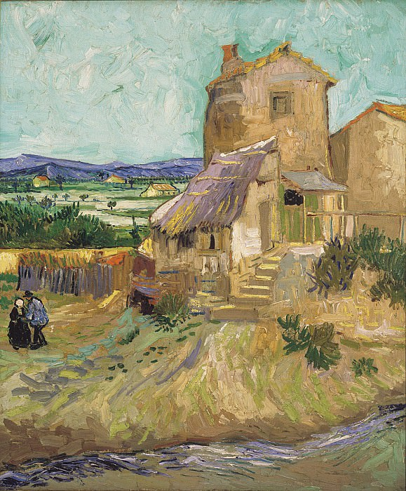 The Old Mill. Vincent van Gogh