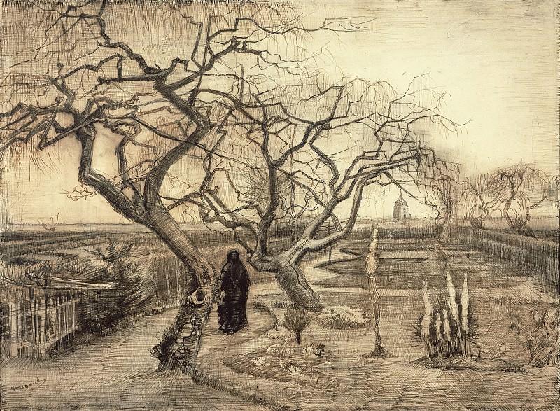 Winter Garden. Vincent van Gogh